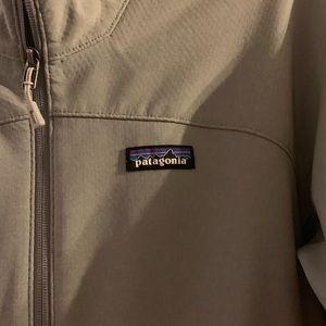 Patagonia women's gray full zip jacket size Medium